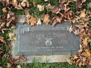Elmer C Dodt - Grave