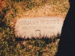 Norman W. Dodt - Grave