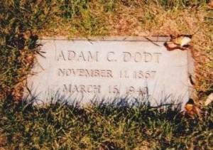 Adam C Dodt - Grave